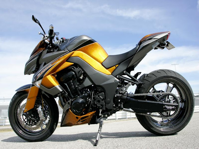 story of motorbike modified in worldwide kawasaki z1000