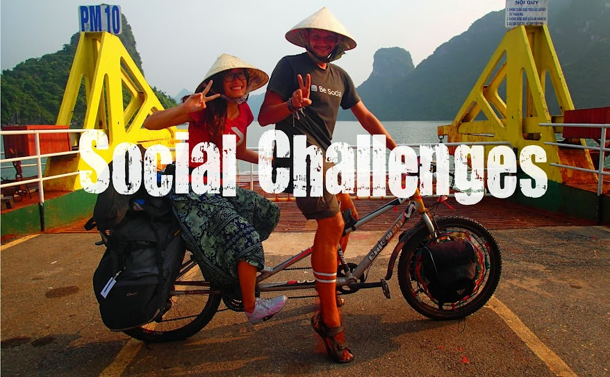 Social Challenges of The Social Traveler around the world
