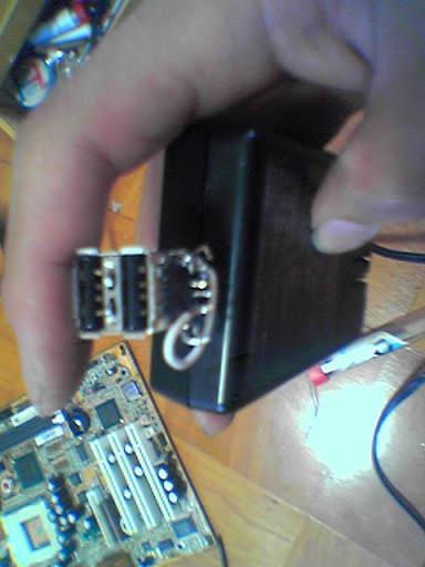 USB5V給電機