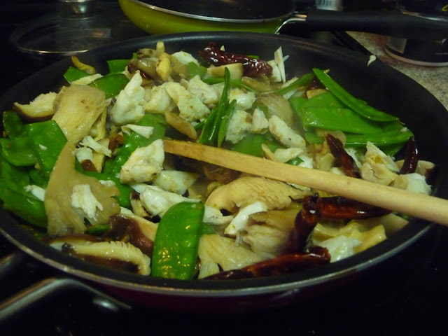 The World Tasters Crab Stir Fry With Sugar Snaps And