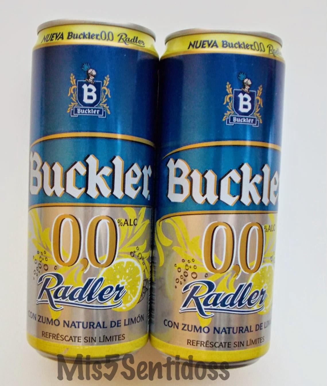 Degustabox Mayo 2014 Buckler 0,0 Radler
