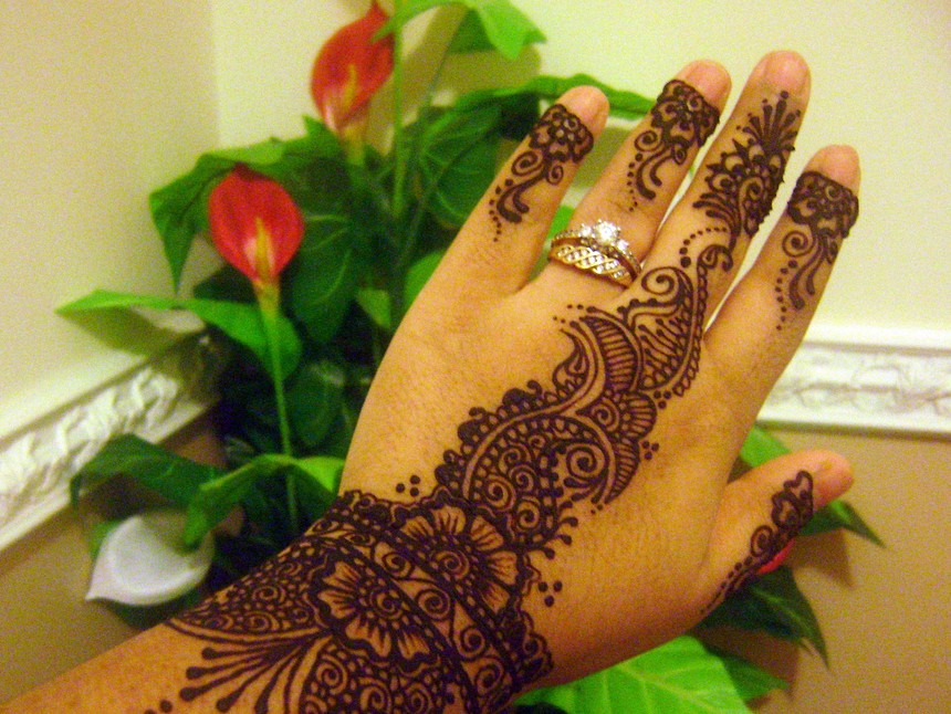 beautiful arabic mehndi designs for hands 2012 male