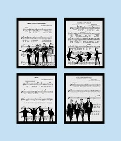 Recycled Music Sheets