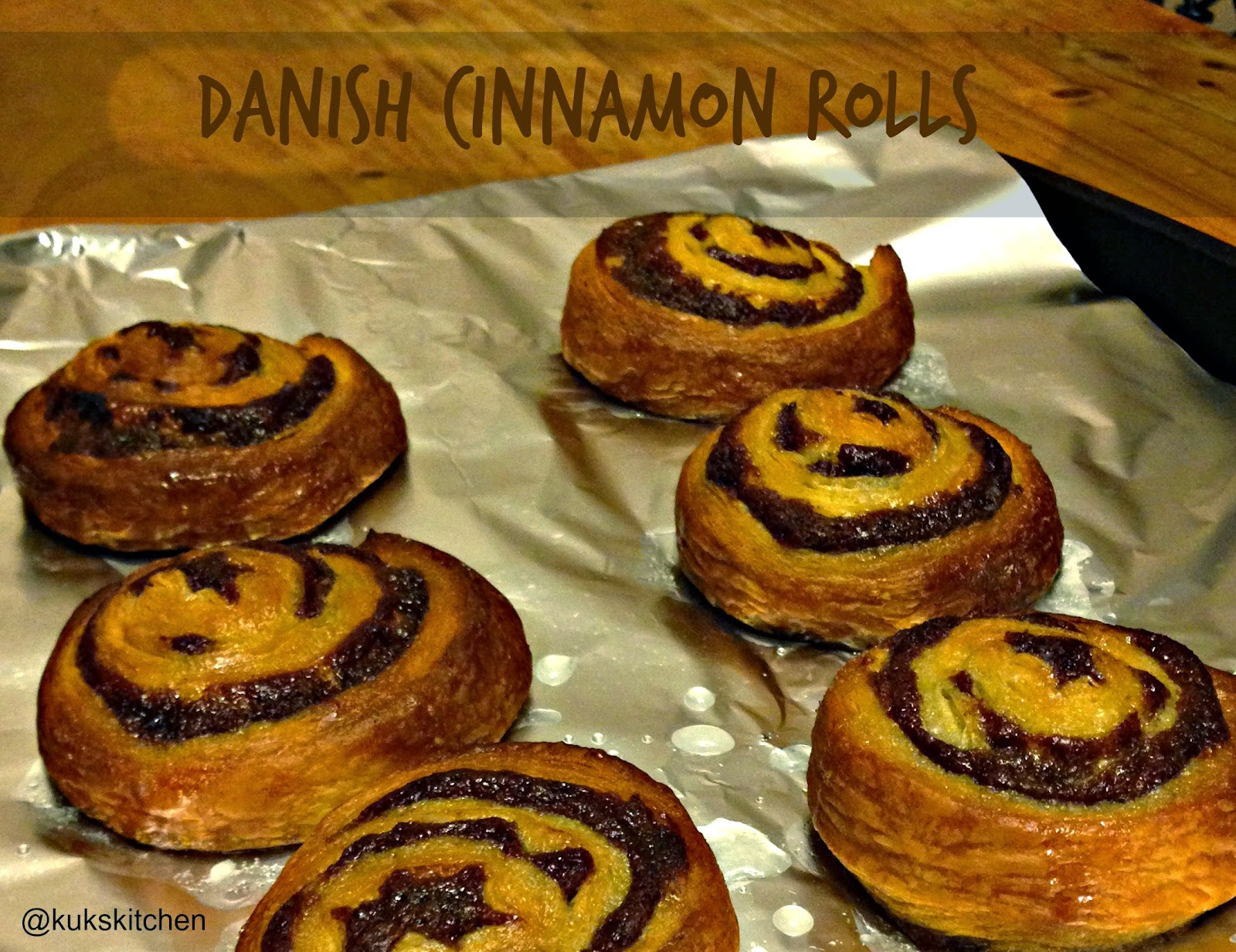 Cinnamon rolls | Danish |  Kukskitchen