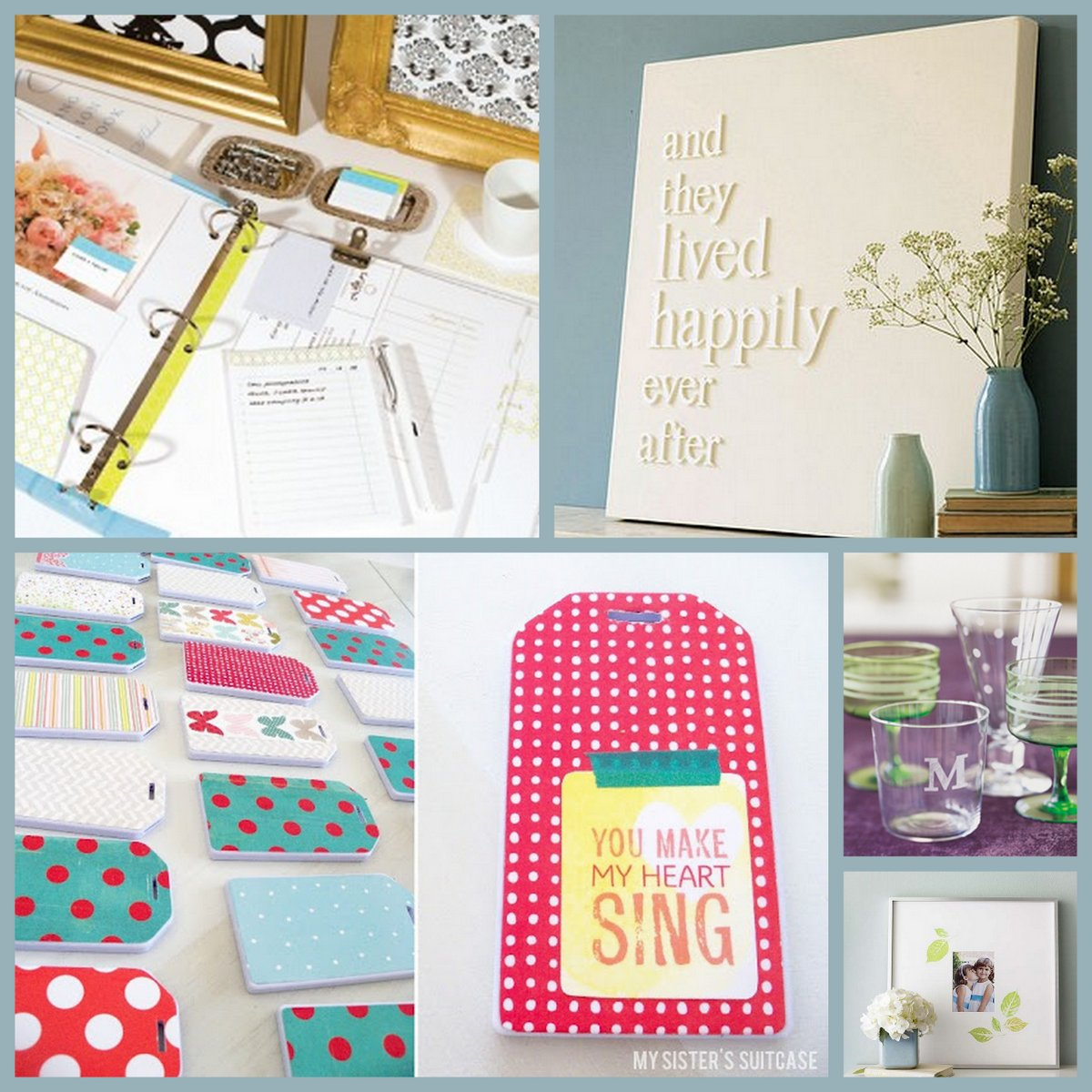 Wedding Gift Diy Ideas Suggestions : Diy Wedding Gifts Ideas Clockwise from upper left: diy