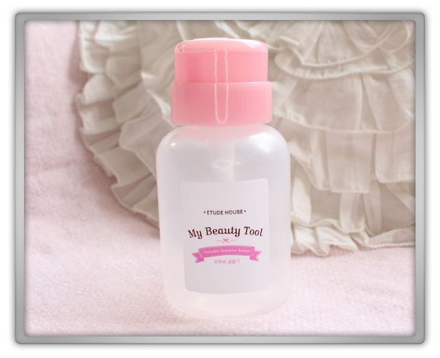 Jolse Etude House Beauty Tools Haul Review blog beauty blogger My Beauty Remover Container