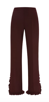 Moda Operandi Clover Canyon Pants With Pleated Trim