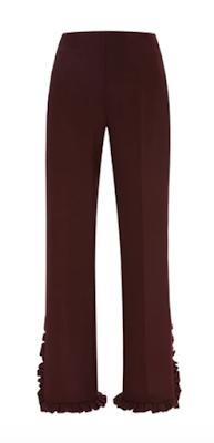 Moda Operandi Clover Canyon Pants With Pleated Trim