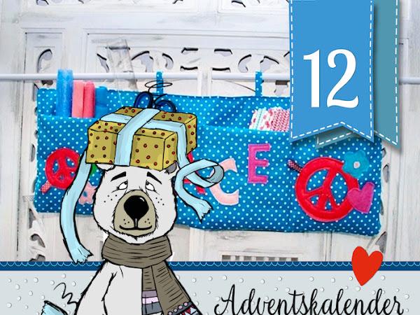 """Adventskalender-Türchen Nr. 12 - Wandutensilo-Anleitung von  Daniela und Nadine von """"kinderleicht & schön"""""""