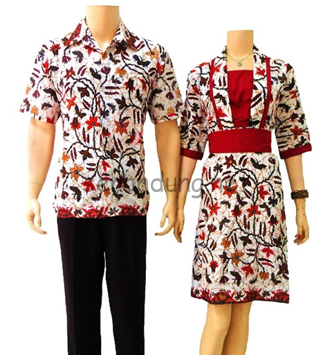 Baju Batik Sarimbit Couple Modern Terbaru Online - Toko Baju Batik ... fcdd99fbcc