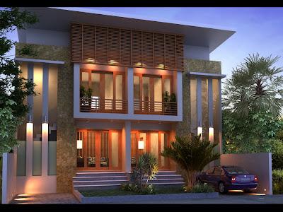 gambar desain rumah desain rumah type 100 offplan akasia