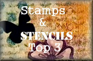 Stamps & Stencils Top 3 Winner