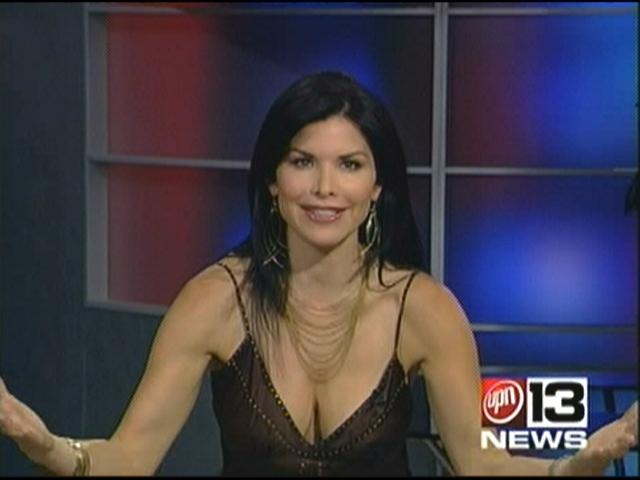 Busty news women anchors