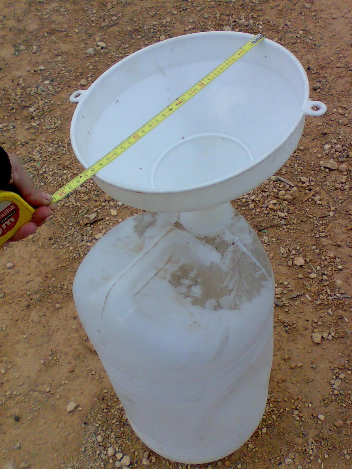 Aventuras en la palma d ebre c mo hacer un pluviometro casero - Como fabricar un pluviometro ...