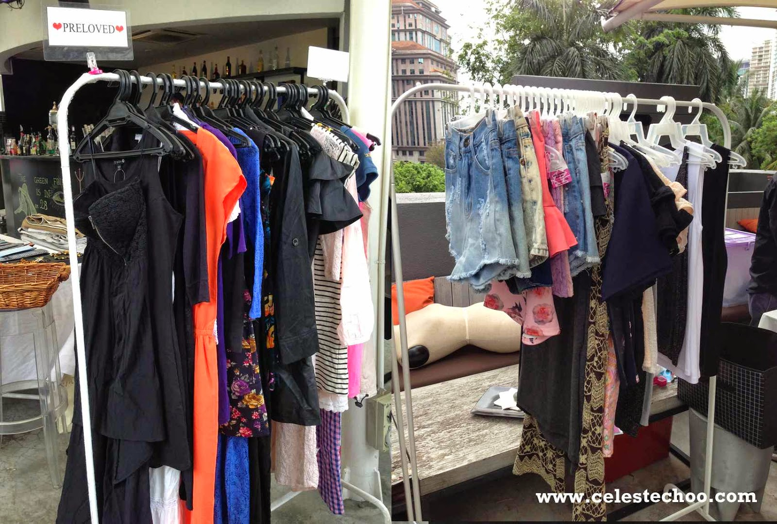 duriana_fashion_sale_shopping_event_preloved_clothes_display