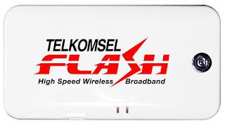 Cara Mempercepat koneksi Internet Modem Telkomsel Flash