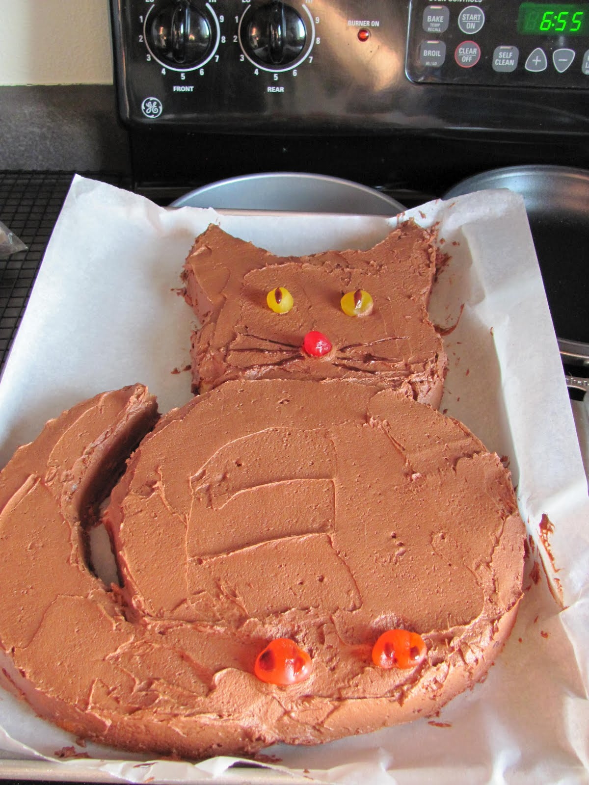 Retorte Cooking With Betty Crackpot Kitty Cat Cake
