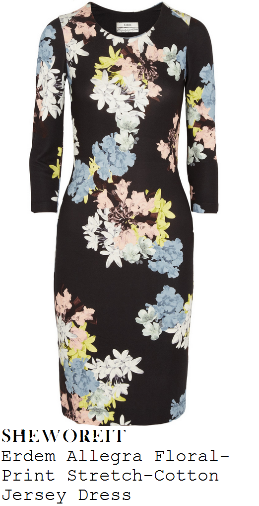 kimberley-walsh-black-floral-print-long-sleeve-jersey-bodycon-dress-loose-women