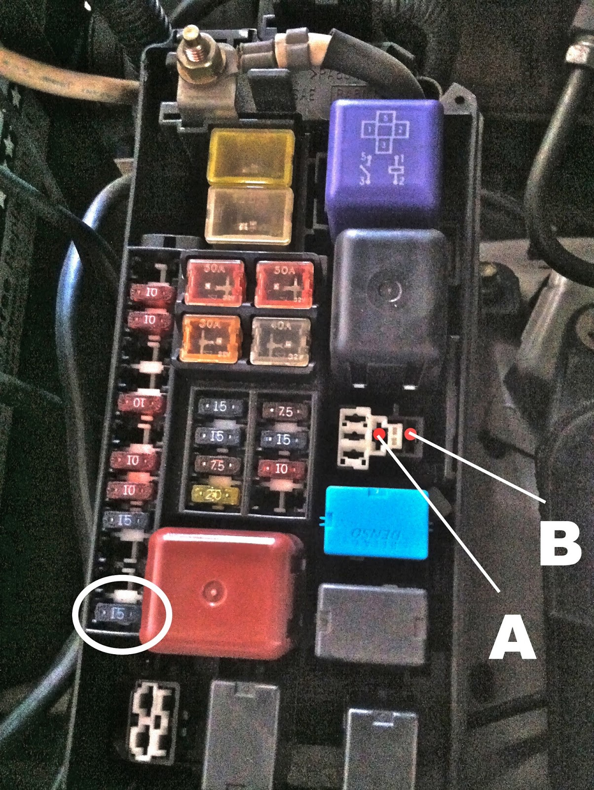 05 toyota corolla wiring diagram html with 1995 2002 Toyota 4runner Fog Light on 2015 Camry Turn Signal Side Mirrors Wiring Diagram likewise 144006 What Connector Attached Horn Harness additionally 1996 Toyota Camry Spark Plug Wire Diagram together with 2003 Toyota Tundra Fuse Box Diagram also Ac Clutch Coil Test.
