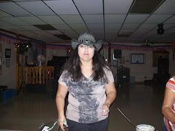 Auxiliary President Janet Romero.