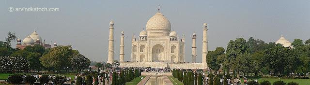 Taj Mahal, Panarama, Angra, India