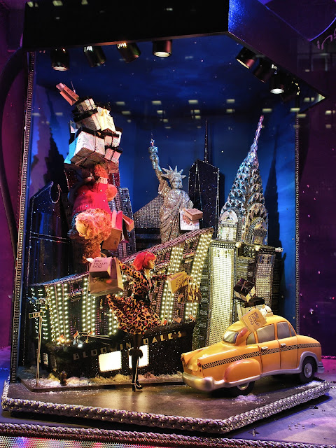 Modern Day Bloomingdale's Girl, #5thAvenueWindows NYC 2013
