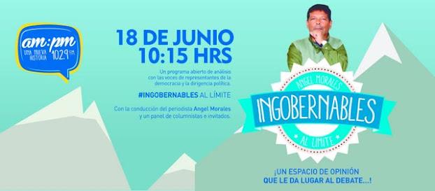 #Limite42 por AMPM FM102.9 DE LUNES A VIERNES DE 8 a 10 Hs
