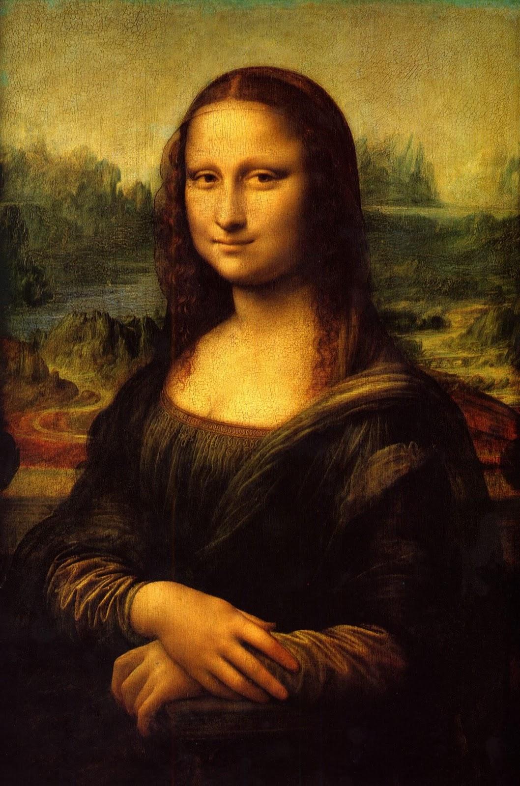 Artes Visuales JCR: La Mona lisa, Leonardo da Vinci