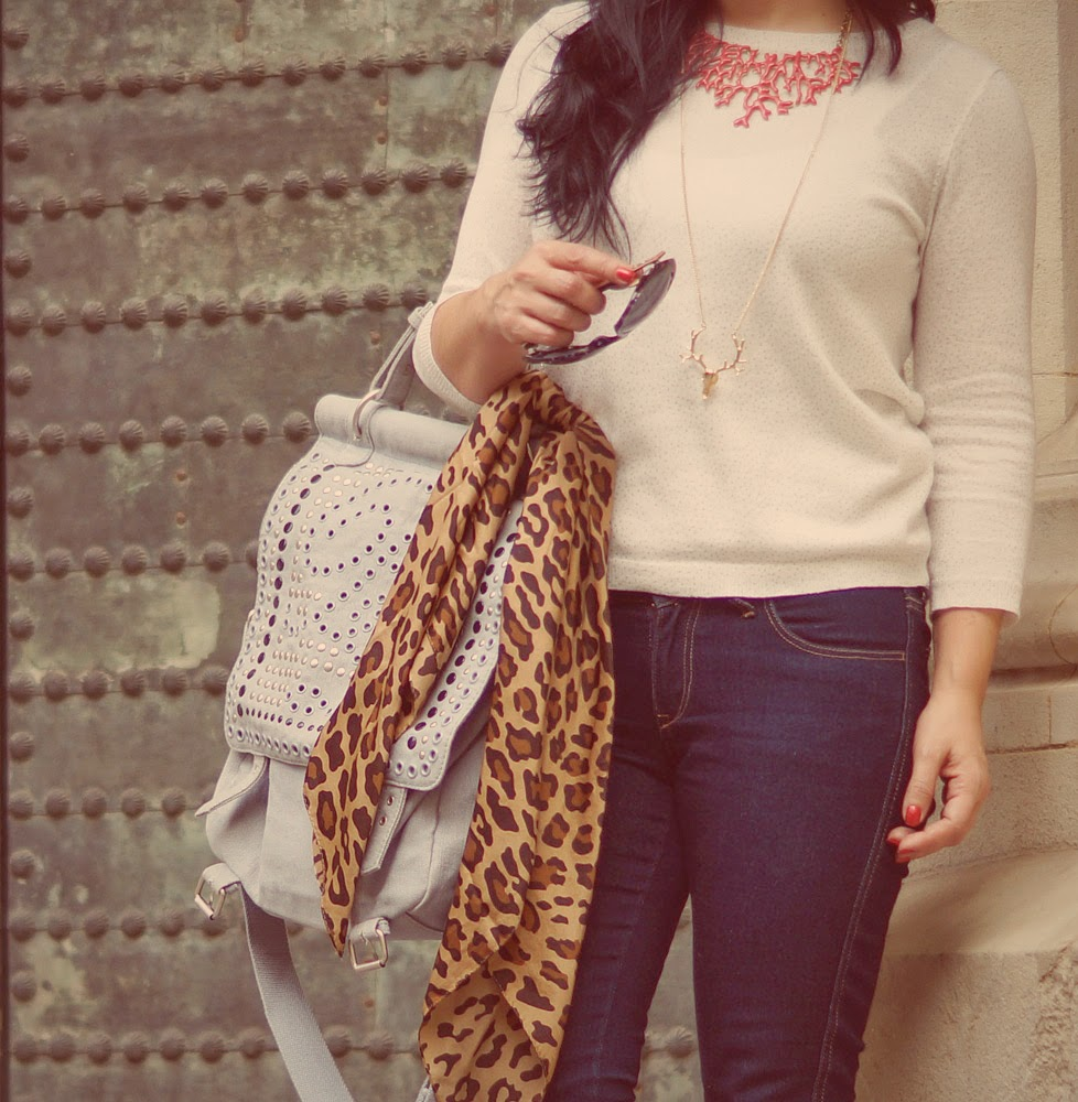 leopard+print+scarf