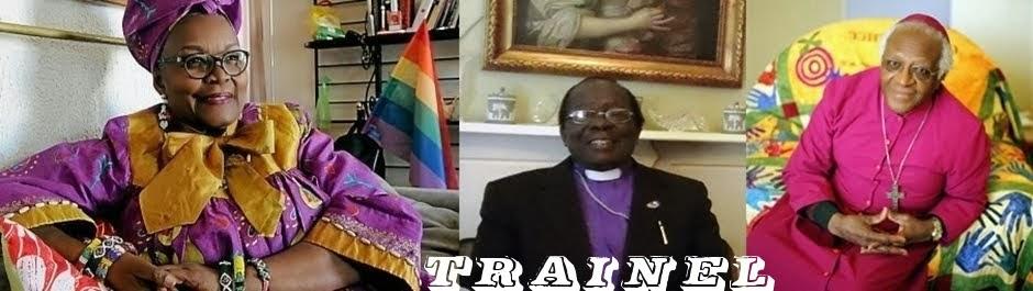 Alice Nkom (Camarões), Christopher Ssenyonjo (Uganda) & Desmond Tutu (África do Sul)