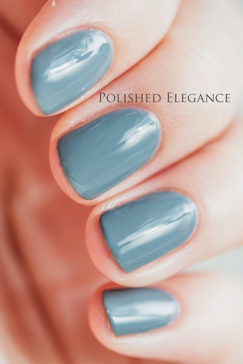 OPI - Embrace The Gray - Fifty Shades Of Grey collection swatches review