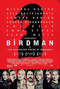 Poster original de Birdman o (La inesperada virtud de la ignorancia)