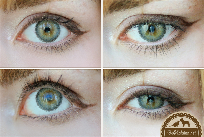 Baby Color Super Honey #Honey Gray Cicle Lenses Review