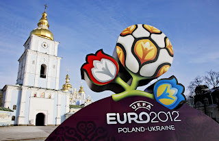 Euro 2012 Cup 3D Real Logo HD Wallpaper