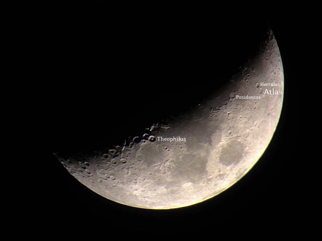 moon crater atlas