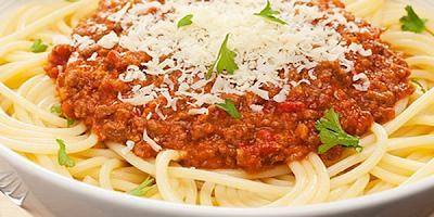receta de espaguetis salsa boloñesa