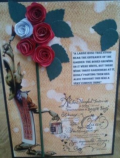 Paint Roses Red Alice S Adventures In Wonderland