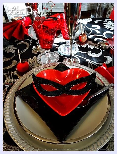 Lylou anne collection reg 39 art sur ma table saint - Table saint valentin ...