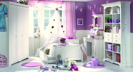 Modern home interior design some style bedroom design for Girl purple bedroom ideas
