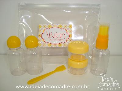 Kit Higiene - lembrancinha - Ideia de Comadre