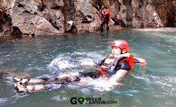 body rafting di curug taringgul