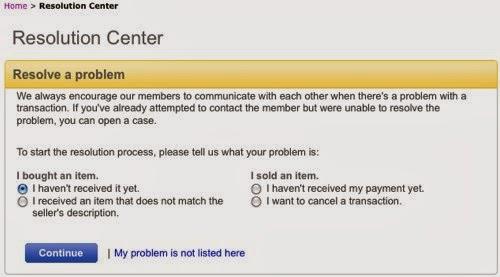 Центр разрешения проблем eBay
