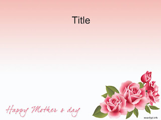 Mother's Day PowerPoint template 002A