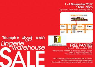 Triumph Sloggi AMO Lingerie Warehouse Sale Viva Home Mall