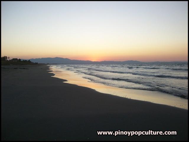 Lingayen Gulf, sunset, Pangasinan