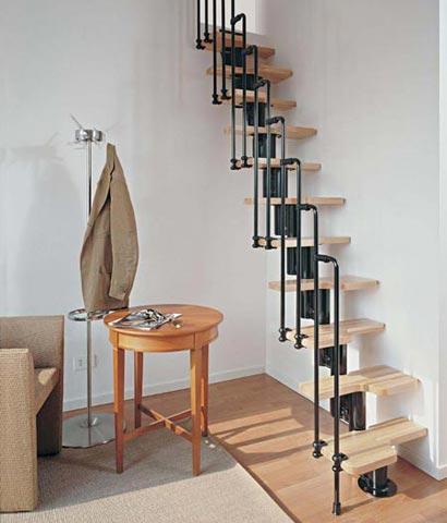 Apuntes revista digital de arquitectura alternativas a for Como hacer una escalera con descanso