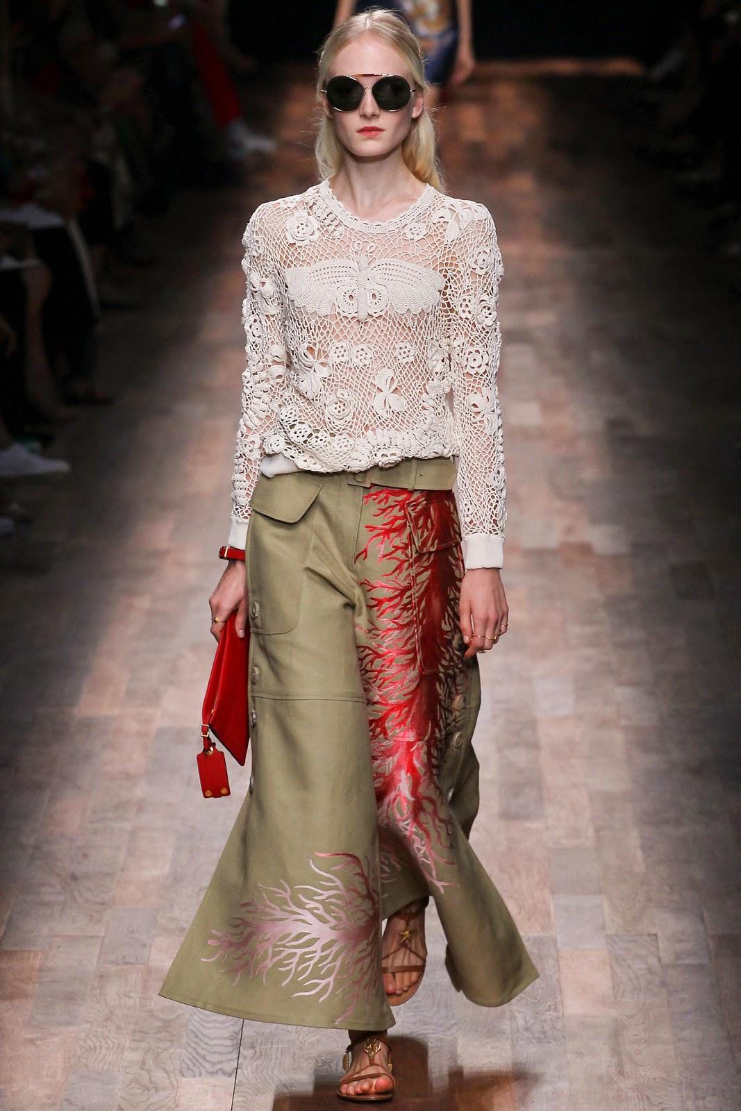 valentino 2015 summer 2016 trend women dress63 Valentino 2015 samling, våren sommaren 2016 Valentino klänning modeller, Valentino kväll klänning nya säsongen kvinnors kjolar modeller
