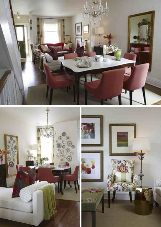Decoracion living comedor vintage - Decoracion vintage salon ...