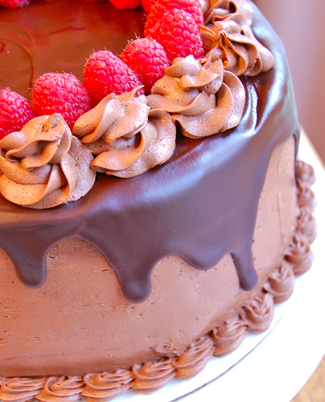 Chef Mommy: Chocolate Raspberry Layer Cake