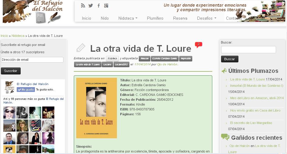http://www.elrefugiodelhalcon.com/nidoteca/la-otra-vida-de-t-loure